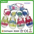venda quente geléia sandálias de pvc