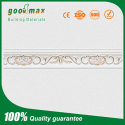 Rose Golden Building Decorative Gypsum plaster Mouldings