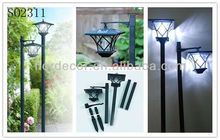 Outdoor Garden Solar Led Lamp Post Light With Combines Styles, Dual-Use Solar Street Lamp SO2311