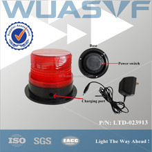 220 volt rechargeable LED flashing warning beacon light