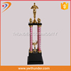 hand awards trophy,challenge medal and trophy holder,round red glass mosaic candle holder
