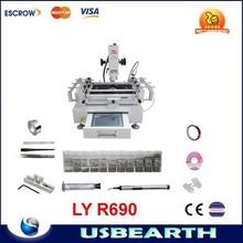 LY R690 Touch Screen ,bga welding machine with drawer-style operation ,BGA Rework Station 220V / 110V