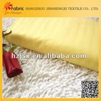 Sateen stripe textile hotel bedding 60 cotton 40 polyester fabric