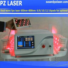 (Hot in Europe) Professinal MED Spa use dual wave lipo laser / lipolaser 650nm 980nm