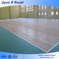Basketball PVC Indoor Rolls Sports Floor