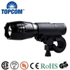 E17 Type Zoomable XML T6 LED Rechargeable Light Bike