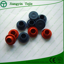 coloured rubber stopper of different size