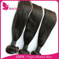 brazilian silky straight remy human hair weft cheap x-pression braid hair wholesale