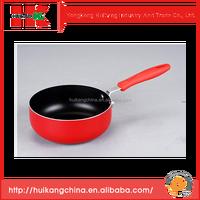 China wholesale high quality FDA aluminium ceramic coating aluminium nonstick saucepan for cookware set