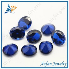 Factory price oval cut blue sapphire loose spinel gemstone