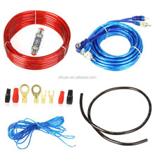 2500w high quality 4gauge power wire car amp wiring kit low price