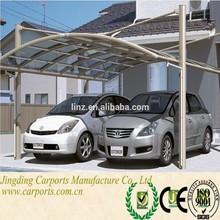 Lanxi cubierta de policarbonato para el estacionamiento de coches( jp)
