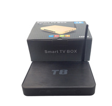 Factory supply!!! original T8 Amlogic S802 android tv box Quad Core 4K with kodi android tv box better than Zoomta