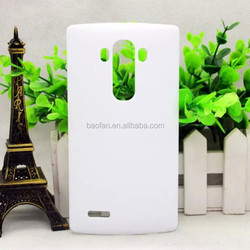 Newest DIY 3D sublimation cell phone case for LG G4