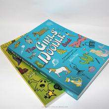 custom children drawing book doodle book printing
