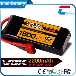 OEM Service VOK 40C 3S 11.1V 1500mAh Lipo Battery