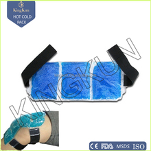 gel beads/ pearl hot cold pack therapy with belt, heat pack, microwave cold hot pack