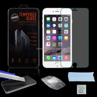 Super Strong&Clear Anti-Scratch Tempered Glass Screen Protector For Apple iphone 6 plus 5.5''