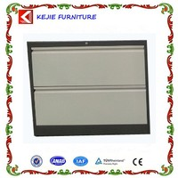 Class Room Teacher Office Used Metal File Cabinet Steel Filing Chest With 2 Large Storage Boxes