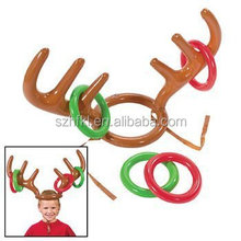 Inflatable Reindeer Antler Ring Toss Game-Holiday Party