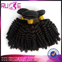 2015 best selling products 5A 14inch kinky curl virgin human hair wholesale can be dyed cheap 100% virgin brazilian hair