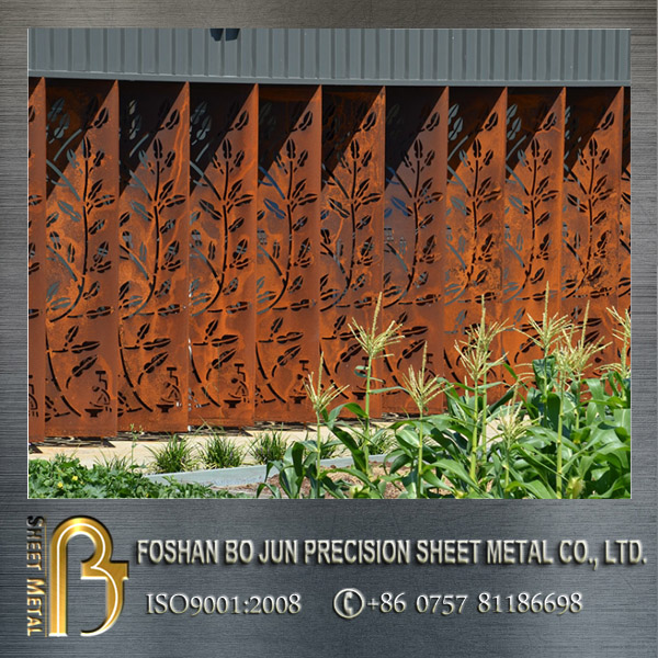 Powder Coated Aluminium Laser Cut Fence Infill Panels