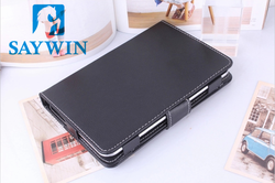 7 inch Universal Rotating PU Leather Tablet protective case (Black)
