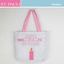 happy birthday gifts for girl child white and pink cute kids birthday party gift bags