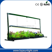 indoor grow light T5 stand/T5 grow light for seed growing seed grow light/ hydroponic plant T5 light 54w
