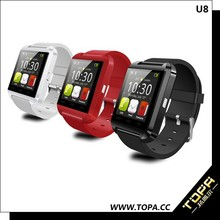 Newest U8 Smart Watch Android High Quality Bluetooth Phones with Call MP3 Alarm For Smartwatch 2015
