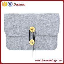 High Quality wool felt mobile phone case/felt univesal tablet case for business gift
