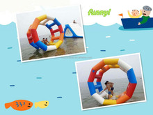 2015! custom inflatable water walking roller for sale, manufacture