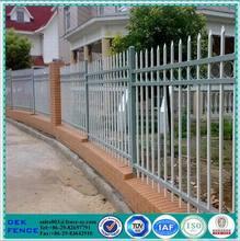 jardín de metal lanza piquete valla ornamental