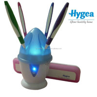 2014 Hot sale Family UV Toothbrush Sterilizer HH10 Tested by SGS hold 4 toothbrushes 99.9% bacteria emilated UV sterilizer