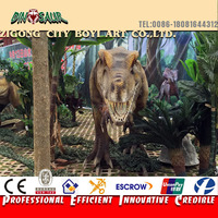 BYYS--Animated Moving Dinosaur Exhibition Animatronic Dinosaur
