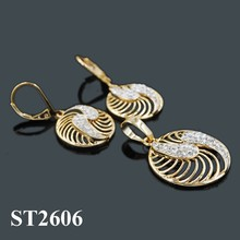 18 karat gold plated Wholesale Jewellery Making Supplies Gold Plated Jewelry Sets
