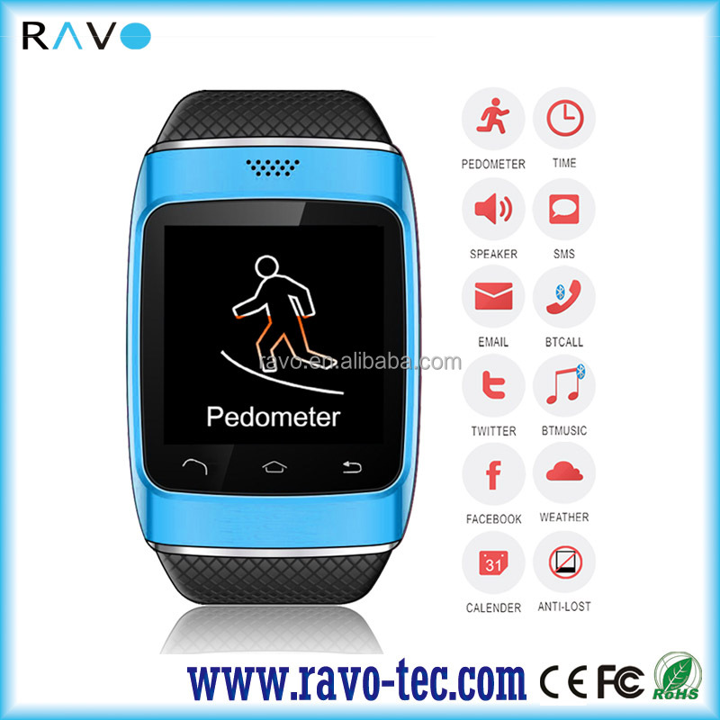 1.54inch TFT Capacitive Touch Screen bluetooth smart watch