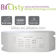70W 24v led driver constant voltage dali led driver ,ip40