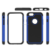 Pc Silicon Hybrid Full Protective Dual Layer Case For Iphone 6 silicon Kickstand Mobile Phone Case