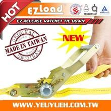 [EZ LOAD] 50 mm Ratchet with Aluminum Handle for Cargo Lashing Belts