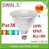 Best price IP65 par38 COB led par light RGB color e27 spot light