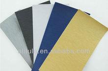 ALILULA Gold/ silver/ black/ blue brushed silver color car vinyl film, brushed film for auto wrapping, color change vinyl