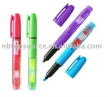 Promotion Ballpen With Highlighter and memo