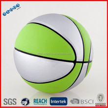Fashion high quality rubber basketball size 7