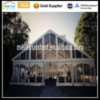 20*75m Outdoor Clear Span Transparent Used Corporate Event Marquees Party Wedding Tents for Sale