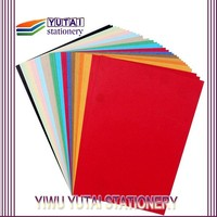 Hot sale various color printing copy paper a4 80gsm