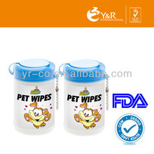 2015 Customized Puppy Cleaning Wet Wipe