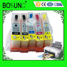 Refillable printer Ink cartridge 5 color for HP364