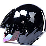얼굴 헬멧, 절반 헬멧 .motorcycle 헬멧을 여십시오