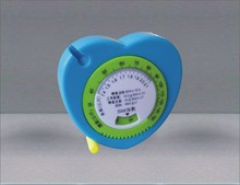 Mini Retractable Abs Case BMI Tape Measure promotional for doctor